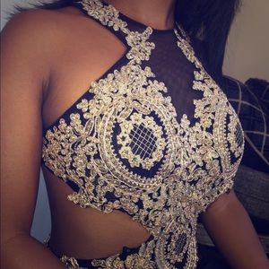 HOMECOMING/PROM SEQUINED GOWN